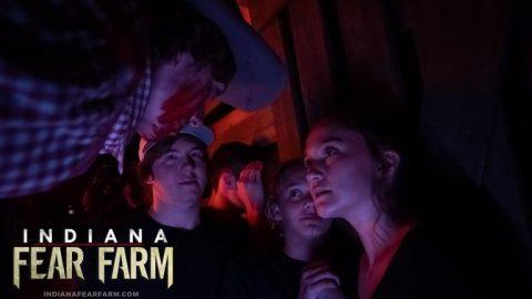 scared girls bloody farmer
